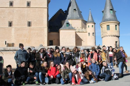 Groupe Alcazar de Ségovie web